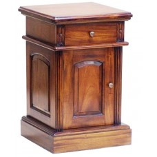 Colonial Bedside Cabinet Plain