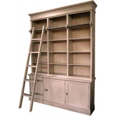 Library Bookcase with 3 Doors